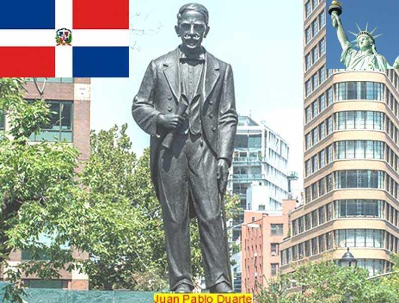 Llaman a criollos NY movilizarse por remoción estatua Duarte