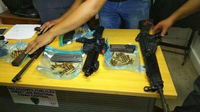 Indagan si fusiles fueron usados durante protestas en Navarrete