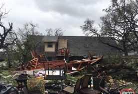 Al menos un muerto por Harvey en Rockport, Texas