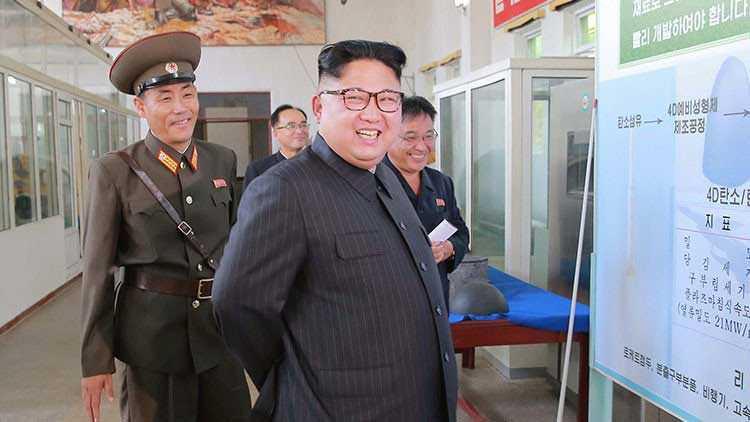 Líder norcoreano Kim Jong-Un sigue desafiante