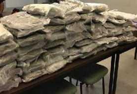 100 mil dólares en marihuana confiscada a dominicanos