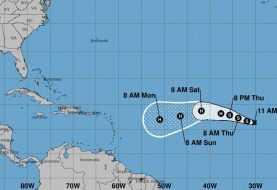 Se forma la tormenta tropical Irma