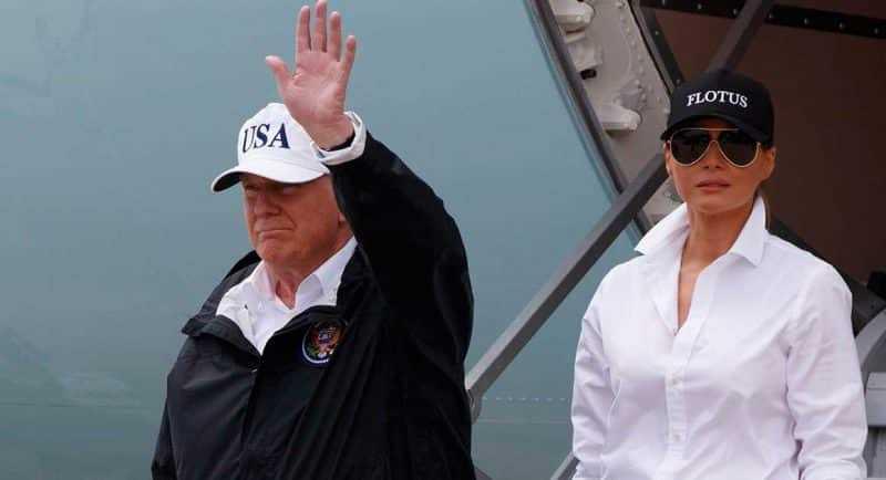 Trump en Corpus Christi evalúa daños causados por Harvey