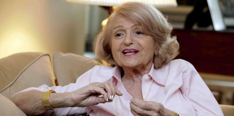 Edith Windsor, pionera del matrimonio homosexual, muere