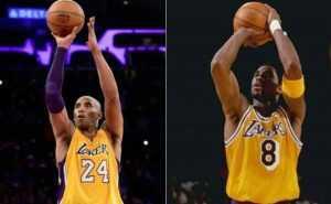 Lakers retirarán camisetas 8 y 24 usó Kobe Bryant