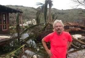 Irma destruyó casa del multimillonario británico, Richard Branson