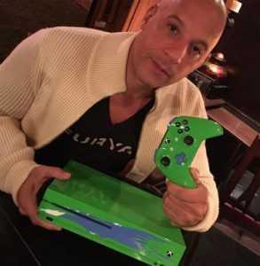 Xbox crea la consola Xbox One S inspirada en Paul Walker