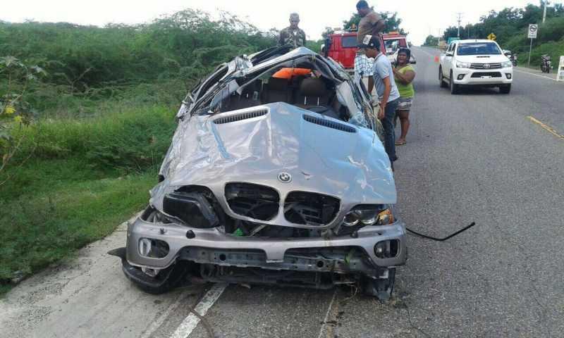 Dirigente político haitiano entre muertos accidente Montecristi