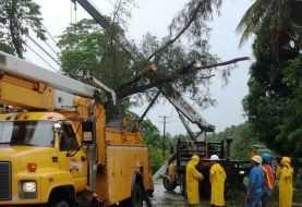 Más de 400 mil abonados sin servicio de energía en el Cibao