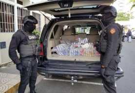 DNCD decomisa 111 paquetes de cocaína en Santo Domingo Este