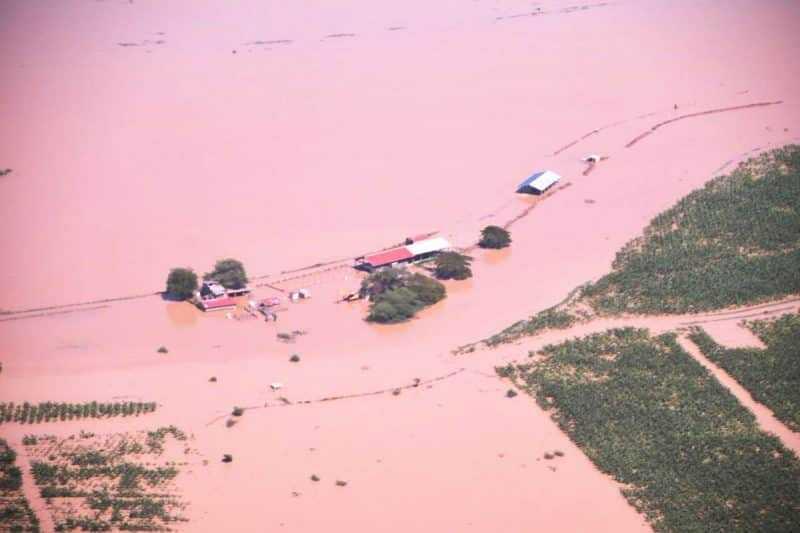 Tres haitianos ahogados por inundaciones Línea Noroeste