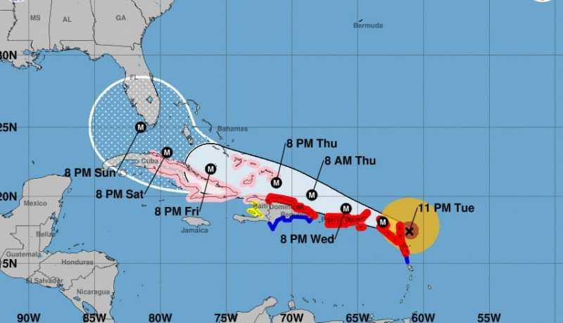 Huracán Irma: Orden de evacuación en Florida
