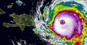Dos muertos tras el paso del huracán Irma,  San Martín y San Bartolomé
