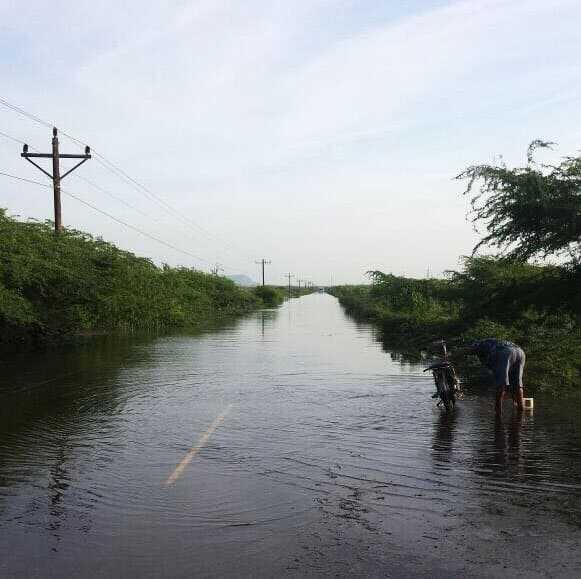 Palo Verde y Castañuelas siguen las inundaciones