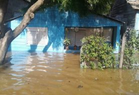 Siguen inundaciones de casas y plantaciones Línea Noroeste