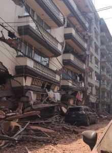 Se eleva a 217 las víctimas terremoto 7.1 en México