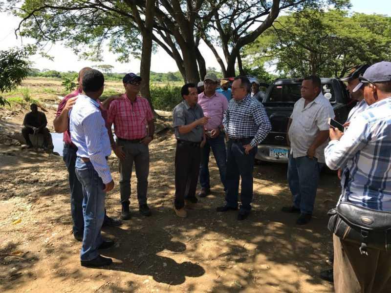 Agricultura realiza levantamiento de daños al sector