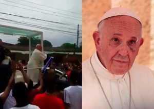 El Papa Francisco sufre golpe en el rostro por accidente