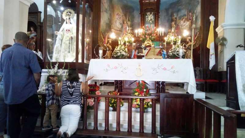 Merma la presencia de devotos en Santo Cerro