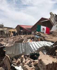 Aumentan a 90 los muertos por sismo en México