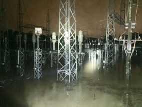 Lluvias provocan salida servicio subestación de Nibaje