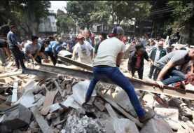 Más de 139 fallecidos tras terremoto en México