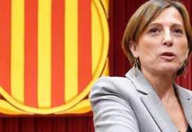 Presidenta del Parlamento catalán acata el artículo 155