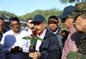Danilo Medina supervisa proyectos desarrollo agroforestal