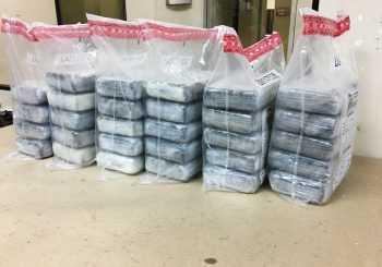 DNCD ocupa más de 50 kilos de cocaína
