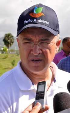 Domínguez Brito preocupado por crisis de agua en Haití