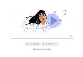 Google recuerda a Selena Quintanilla con un doodle