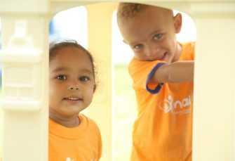 Gobierno entrega estancia infantil en San José de Ocoa
