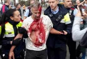 Cataluña: Cargas policiales y violencia contra votantes durante el 1-O