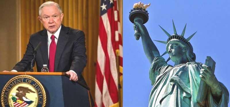 Justicia EEUU da ultimátum a Nueva York deje ser ciudad santuario