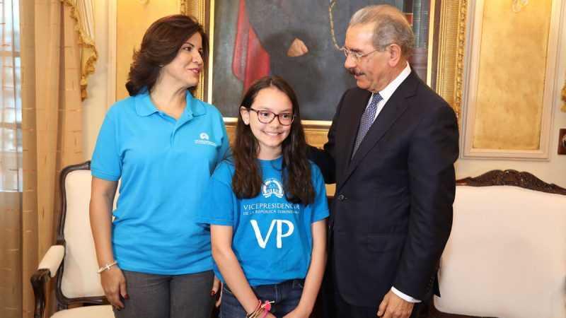 Presidente de República Dominicana declara Día Nacional de la Niña