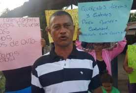 Protestan en Pontezuela por calles y agua