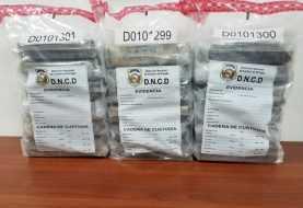 DNCD ocupa 18 paquetes de cocaína en Samaná