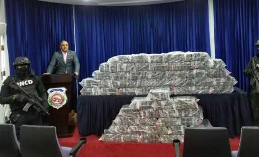 DNCD incauta 345 paquetes de cocaína en el Distrito Nacional