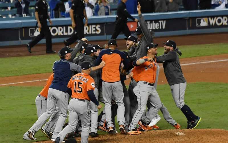 Astros de Houston ganan Serie Mundial