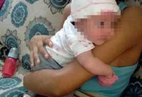 Recuperan bebé sustraída por adolescente