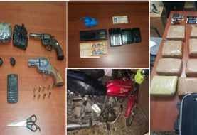 Santiago: Ocupan marihuana, cocaína, armas y dinero