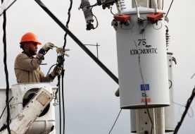 Servicio eléctrico afectado en el Cibao