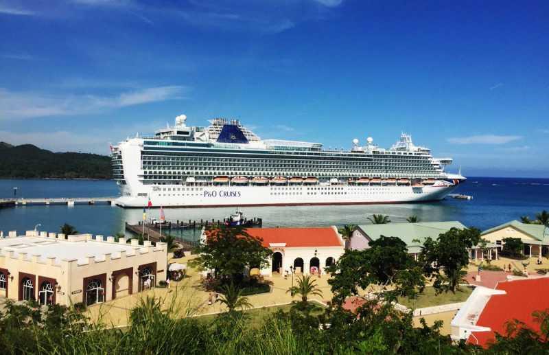 Más de 42 mil turista llegaron a RD esta semana en cruceros