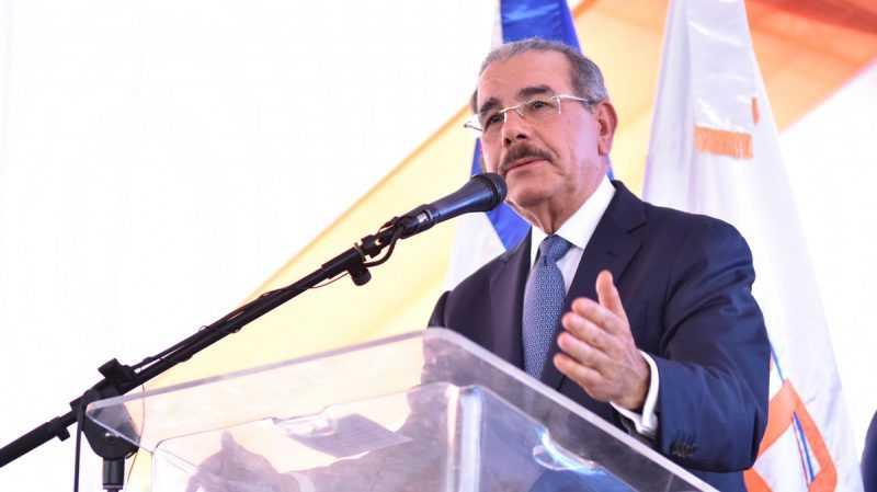 """Danilo: """"Carretera Padre Las Casas-Bohechío, deuda vieja con ustedes que estamos pagando"""""""