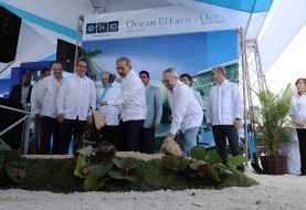 Danilo Medina asiste a primer palazo Hotel Ocean El Faro