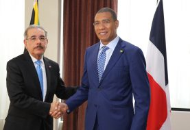 Danilo Medina se reúne con primer ministro de Jamaica
