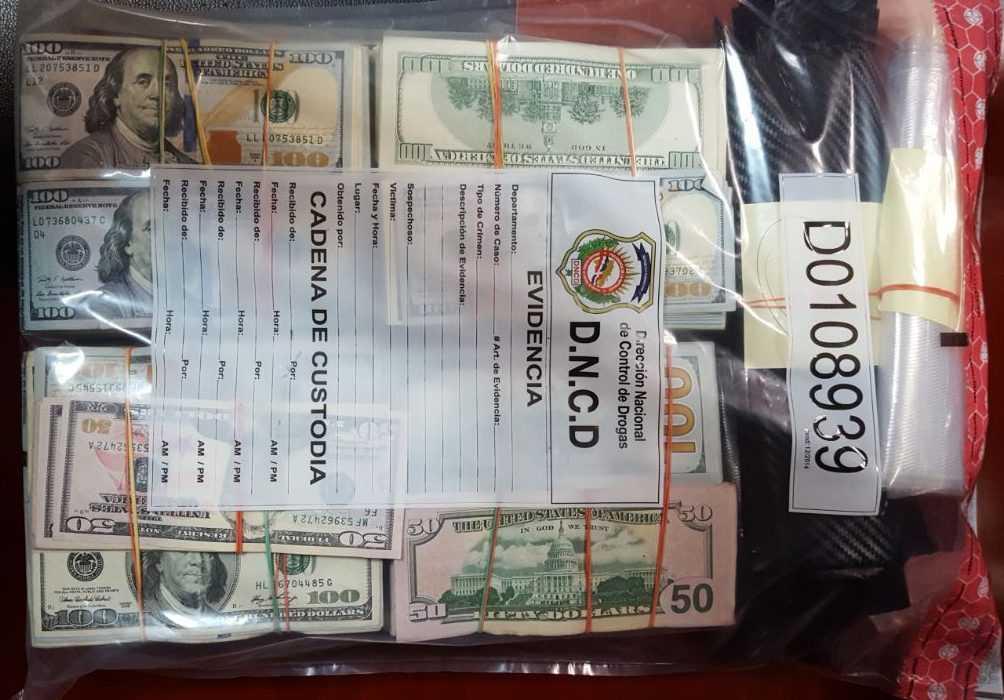 Autoridades dominicanas investigan 3 personas por US$449,600