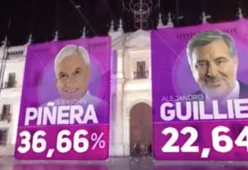 Chile: Piñera y Guillier van a segunda vuelta