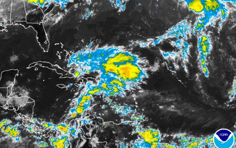 Las lluvias continuarán según Onamet
