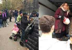 Entregan más de 1000 pavos a familias necesitadas del Bronx